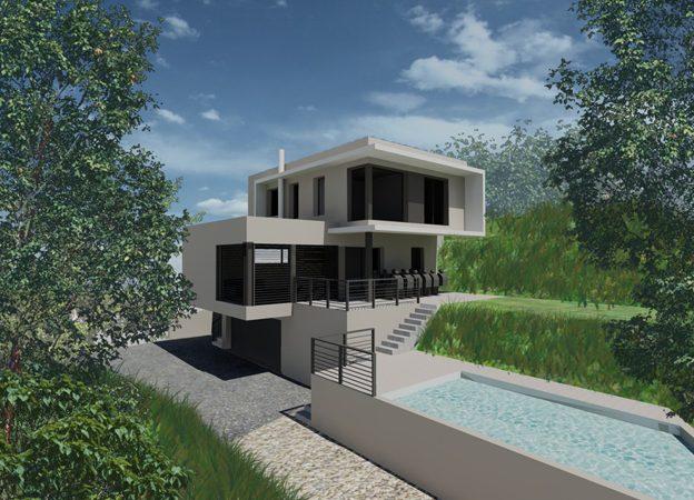 Projet Maison D Architecte Contemporaine Archives Architecture Lyon Batiment Industriel Maisons Individuelles Et Secteur Bureau